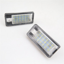 READXT 2Pcs Car Styling LED Number License Plate Light 18 SMD Led Bulb 12V Lamp For A4 A6 C6 A3 S3 S4 B6 B7 S6 A8 S8 Rs4 Rs6 Q7