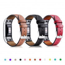 Genuine Leather strap for fitbit charge 2 band Bracelet leather Watchband Replacement wristband wrist correa for fitbit charge2