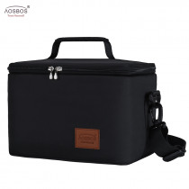 Aosbos Fashion Portable Thermal Lunch Bags for Women Kids Men  Food Picnic Cooler Box Large Capacity Insulated Tote Bag Storage