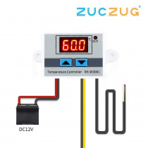 10A 12V 24V 220VAC Digital LED Temperature Controller XH-W3001 for Arduino Cooling Heating Switch Thermostat NTC Sensor
