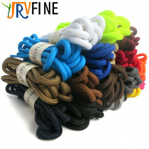 YJRVFINE 1 Pair High Quality Round Shoe Laces Strings Athletic Sports Shoelaces for Boots&Sneakers&Casual Shoes Shoelace Rope