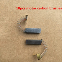 10pcs Vacuum Cleaner Motor Carbon Brushes for Philips /Midea /Haier /Sanyo Vacuum Cleaner Parts Replacement Motor Carbon Brushes