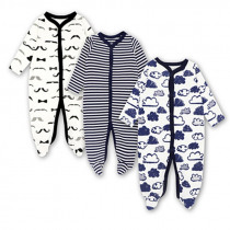 Babies Boys Clothing Jumpsuit Newborn Baby Girls Sleeper Infant Pajama 100% cotton 3-12 Months Clothes