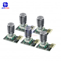 5PCS/Lot KY-040 Rotary Encoder Module with 15x16.5 mm Potentiometer Rotary Knob Cap for Arduino