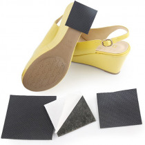 Anti-Slip Self-Adhesive Shoes Mat Durable High Heel Sole Protector Rubber Pads Cushion Non Slip Insole High Heel Sticker 1Pair