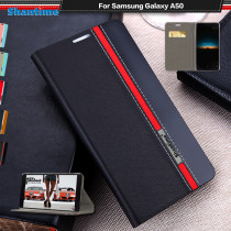 Pu Leather Phone Case For Samsung Galaxy A50 Flip Book Case For Samsung Galaxy A70 Business Case Soft Tpu Silicone Back Cover