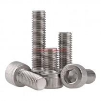 DIN912 M5 304 Stainless Steel Metric Thread Hex Socket Head Cap Screw Bolts M5*(5/6/8/10/12/14/16/18/20/22/25/30/35/40/45/50) mm