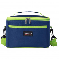 Blue 5L Lunch Bag Thermal Insulated Lunch Bag Portable Storage Food Bag Waterproof Picnic Carry Tote Lunch box