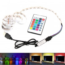 RGB LED 5V Strip USB Light 5 V USB Led Strip Light TV Backlight 2835 Lighting RGB 5V USB Led Strip RGB Lights Tape Diode Ribbon