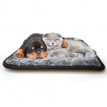 110V Dog Cat Electric blanket Heating Pad Pet Heating Pad Electric Heating Blanket Heated Seat Warming Mat with Chew Resistant P