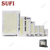 LED Lamp Chips AC220V Smart IC SMD 2835 Led Light 10W 20W 30W 50W 100W 150W 200W Pure White For DIY Outdoor FloodLight Spotlight