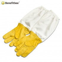 Benefitbee Apicultura Gloves Beekeeping Bee Tools For Beekeeper Protective Durable Sheepskin Beekeeping Equipment Leather