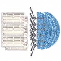ILife v5 side Brushes Unid + MOP Unid + HEPA Unid filter for iLife v55 robot Accessories