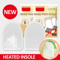 Disposable Automatically Winter Heated Insoles Women Men Electric Battery Heating Warm About 50 Degree Shoe Inserts Foot Pads