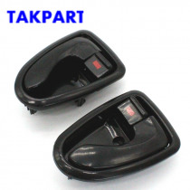 TAKPART INSIDE INNER DOOR HANDLE FOR Hyundai ACCENT 00-06 driver left side fit Front Rear