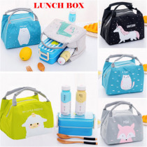 Cute Cartoon Portable Insulated Lunch Bags Organizers Cooler Picnic Lunch Bag Thermal Food Picnic Lunch Bags For Women Kids