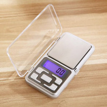 10PCS/LOT Mini Electronic Digital Scale Jewelry weigh Scale Balance Pocket Gram LCD Display Scale 500g/0.01g 200g/0.01g