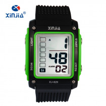 XINJIA Fashion Big Number Casual Sports Digital Watches For Men Children Outdoor Running 30m Waterproof Military Kids Fitness