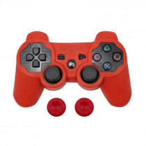 For PS3 Controller Gamepad Camo Silicone Rubber Skin Case Protective Cover For Playstation 3 Joystick with 2 Silicone Caps