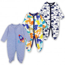 Newborn Baby Boys Footed Sleepers Pajamas Babies Girls Clothes Roupa Bebe 3 6 9 12 Months Infant Clothing
