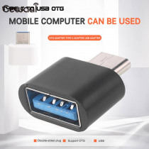 USB To Type C OTG Converter Data Transfer USB Protable USB To Type C OTG Adapter For_Android Charging OTG Computer