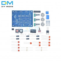 Diy Electronic Diy Kit Pcb Board LM1036N Fever Volume Control Board Kit LM1036 DC Tonal Chip For 12V DC/AC Power Supply