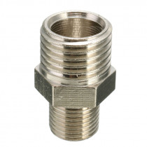 1x Male Airbrush Hose 1/4'' BSP Male to 1/8'' BSP Adapter Fitting Connector for Mini Air Compressor