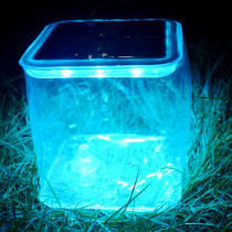Solar Inflatable Light 10 LED Portable Lantern Collapsible Tent Lamp Waterproof Outdoor Camping Hiking Light