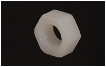 Nylon hexagon Nuts M2 M2.5 M3 M4 M5 M6 M8 M10 M12 M14 M16 M18 M20 nuts white plastic nuts for screws
