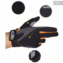 NEW Anti-slip Working Gloves Full Finger Touch Screen Outdoor Riding Gloves High Elasticity Breathable Protection Coating