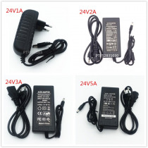 Power Adapter AC to DC 24V 1A 2A 3A 5A Converter Transformer 24 v Power Supply Charger For LED Strip and logitech racing wheel