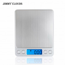 500g/0.01g Digital Kitchen Scale Food Diet Kitchen Cooking Weight Balance Electronic Scales 3000g/0.1g precision balance scale