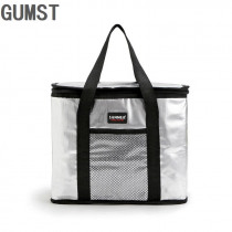 GUMST 16L big thermal picnic cooler bag insulated lunch box cool handbag ice pack food fresh storage vehicle insulation bags