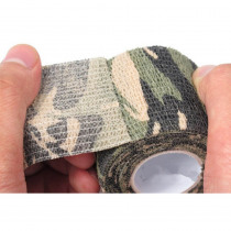 Camouflage self-adhesive medical rubber elastic bandage waterproof tape sports outdoor tactical hunting cloth first aid kit