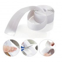 Waterproof Mold Proof Adhesive Tape Durable Use 1 PVC Material Kitchen Bathroom Wall Sealing Tape Gadgets Tape Kitchen Bathroom