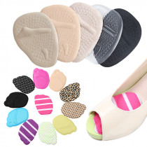 1 Pair women soft insole comfort silicone gel insole foot care shin bone support insert insole female accessories