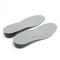 1 Pair 3.5cm Height Increasing Insoles, Unisex Insert Shoe Pad ,Free Size Arch Support Cushion Taller  For Men Women
