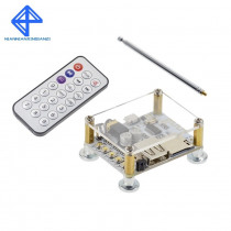 Bluetooth Audio Receiver board with USB TF card Slot decoding playback preamp output Wireless car speakers