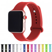 for iWatch Band 38mm 4 44mm Series 4 3 2 1 Strap Silicone Bracelet For Apple Watch Bands 42mm 40mm Silicone Women Straps