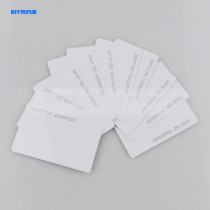 DIYSECUR 10pcs 125Khz RFID ID Card 0.8mm For Access Control And Time Clock Use