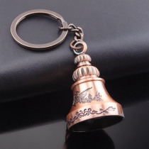 Bell Keychain Creative Metal Pendant Mini Commodity Outdoor Survival Small Gift Hiking Camping Tools