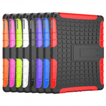 TPU + PC  Luxury Armor Shockproof Non Slip Stand Tablet Protection Case Cover For Apple iPad Air 5 A1475 A1476 1474 9.7