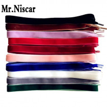 Mr.Niscar 1Pair 1.6cm High Quality Velvet Flat Shoelaces for Women Shoes Sport Boots Multicolor Colorful Shoe Laces Strings Rope