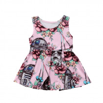 2019 New 0-3T Newborn Kids Baby Girls Clothing Cute Star Wars Party Pageant Tutu Dress Sundress Infant outfits costume