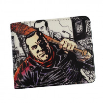 The AMC Movie The Walking Dead Short Wallets With Card Holder Photo Holder Men And Women Cool Purse