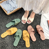 2019 Women's Slippers Woman shoes Summer Beach Women Flip Flops Ladies Fashion Slippers Home Female Shoes Slippers For Women