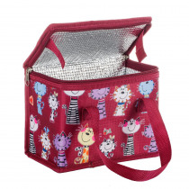 Portable Lunch Bag Thermal Insulated Lunch Box Tote Cooler Bag Bento Food Bag Lunch Container School Food Storage Bags Cute Cat