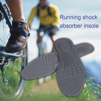 Hot Selling 1 Pair Sports Shoes Insoles Massage Shock Absorption Orthotics Arch Pain Relief Sneakers Insoles -B5