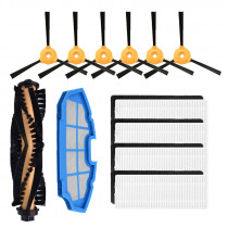 Side brush Hepa filter Roll Brush Kit for Ecovacs CEN360 DEEBOT N79S N79 & Conga & Excellence 990 iboto aqua v710 accessories