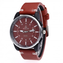 Men's Big Watch Couple Leather Band Analog Quartz Round Business Wrist Watch Sports Watches Mens 2019 Relogios Masculinos